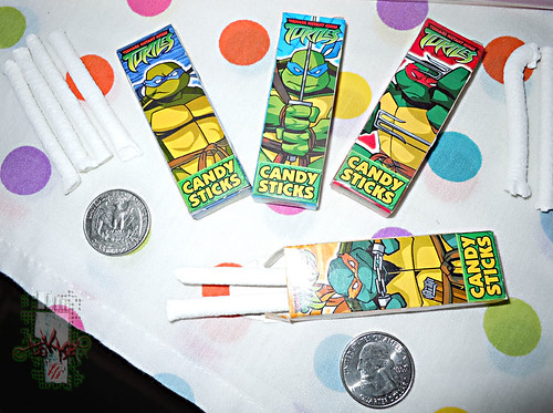 WORLD Confections :: COMIX MIX CANDY STICKS ii (( 2008 ))