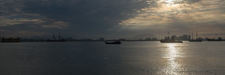 Butterworth from the Clan Jetties of George Town