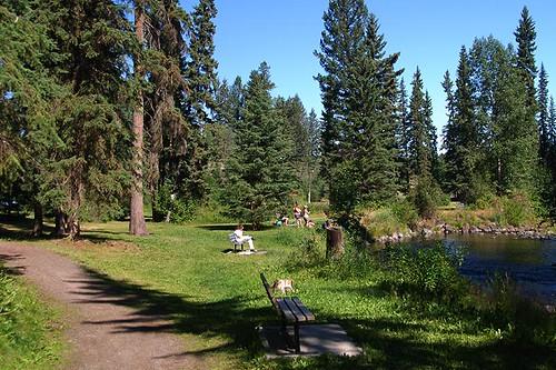 Centennial Park, 100 Mile House, Highway 97, Cariboo, British Columbia, Canada