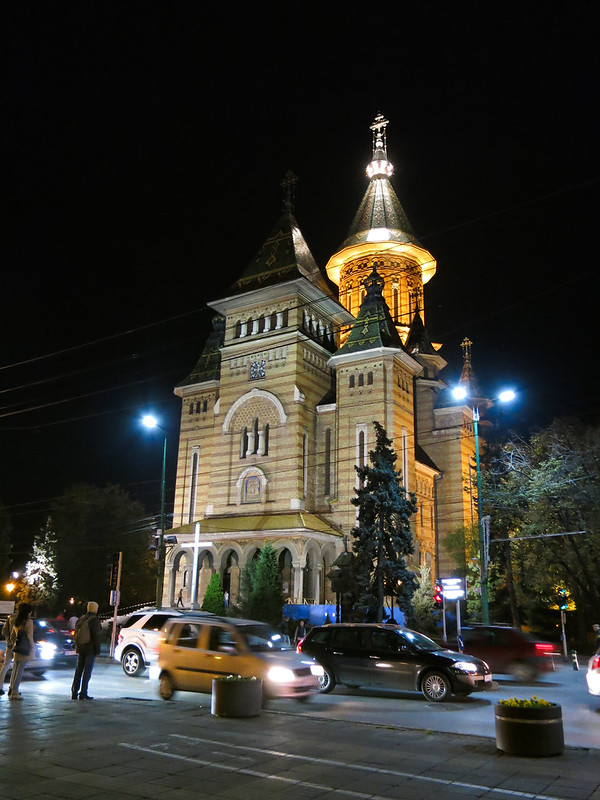 Metropolitan Cathedral at night
