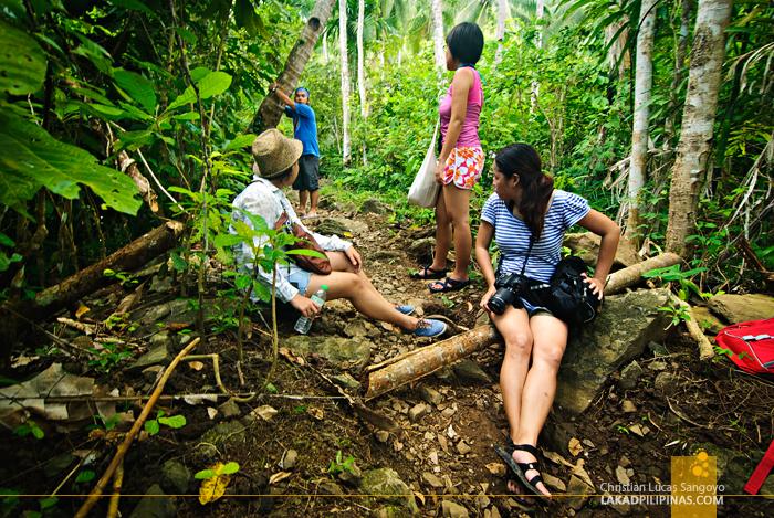 Lost at Liktinon Falls at President Roxas, Capiz