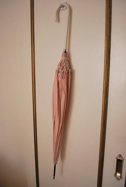 Pink umbrella 1