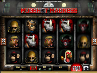 Mugshot Madness slot game online review