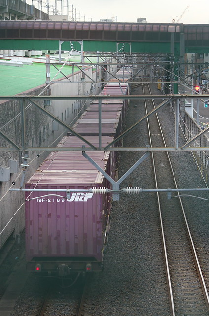 Tokyo Train Story 貨物列車 2014年1月26日