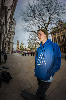Cameron Linford YEUK repping @ Westminister, London