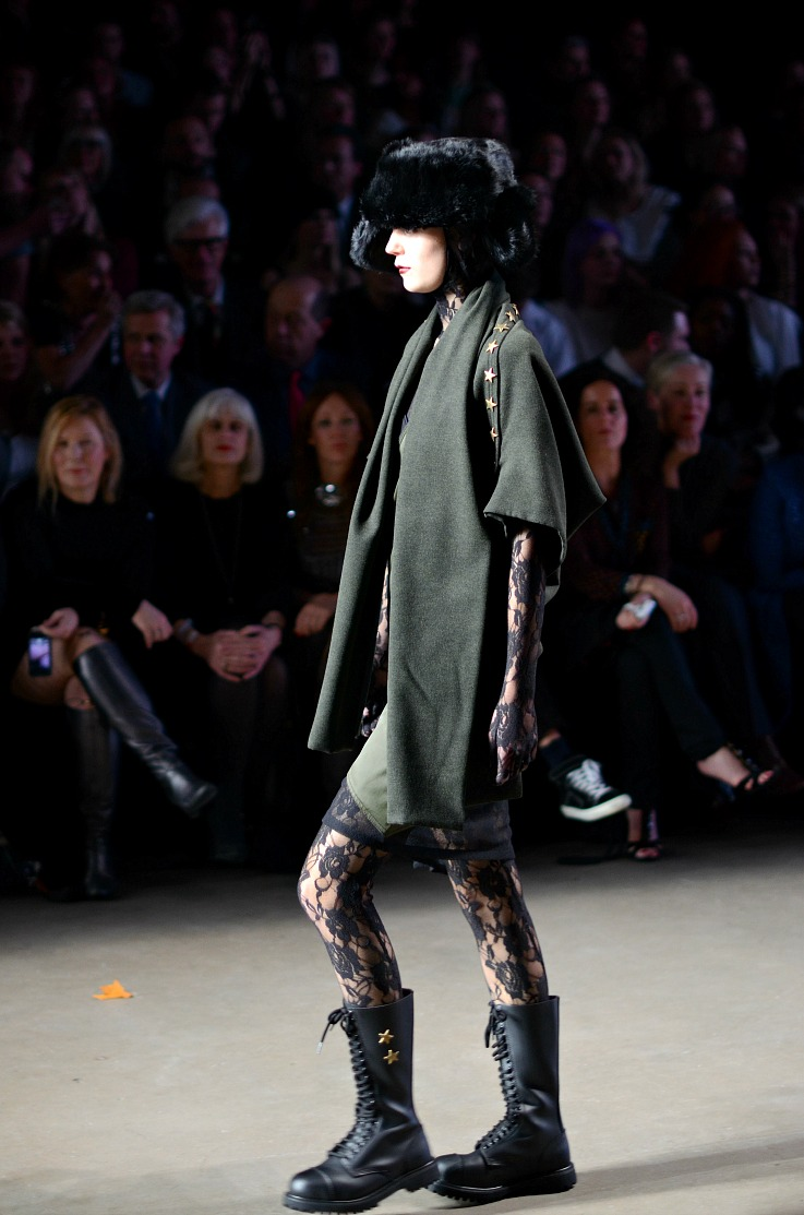 Aziz bekkaoui fashion week 2014 Amsterdam, Fall Winter 2014