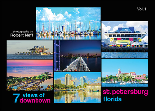 7 Views of Downtown St Petersburg, Florida
