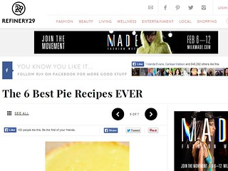 Refinery 29: The 6 Best Pie Recipes EVER