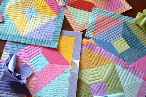 Mini Quilt ~ Color Blocks