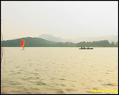 杭州 西湖 (其他景點) - 266 (在西湖十景之 蘇堤 上看西裡湖的黃昏)