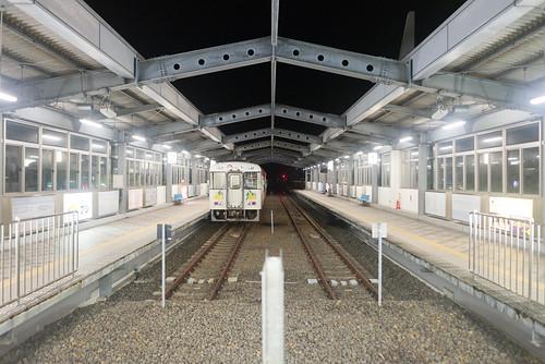 2014 四国 夜 宿毛市 宿毛駅 旅行 高知県 日本 japan travel kochi nikond600 station night zf2 distagont225 carlzeiss