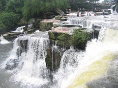 Sihanoukville waterfall