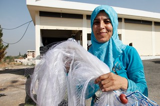 From fishing net to safety net