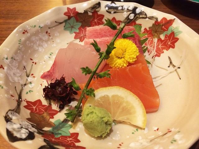 Sashimi, Keyaki, Pan Pacific Hotel