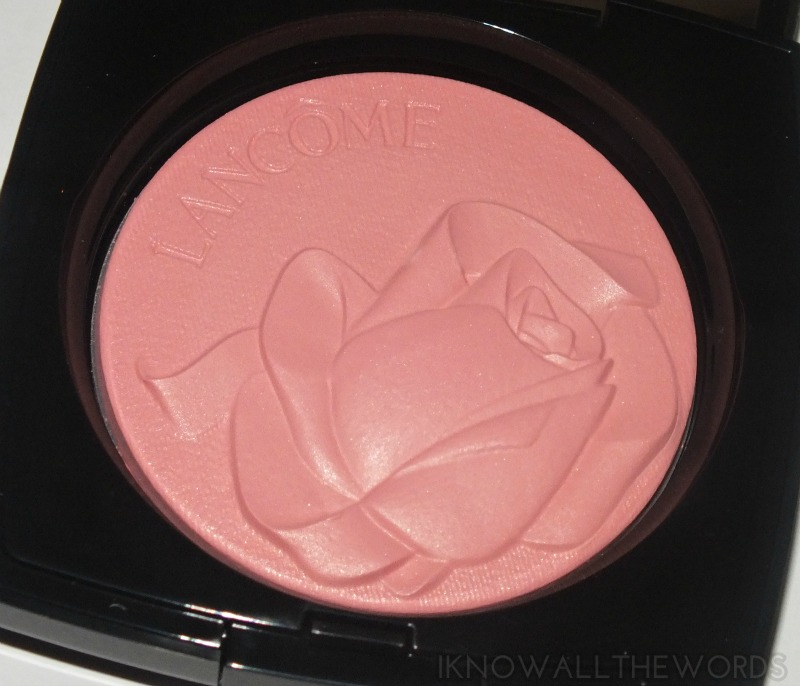 Lancome Highligter Blush- Rose Ballerine (3)