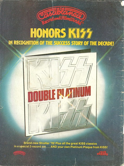 "Kiss ""Double Platinum"" (Released: 04/02/78)"