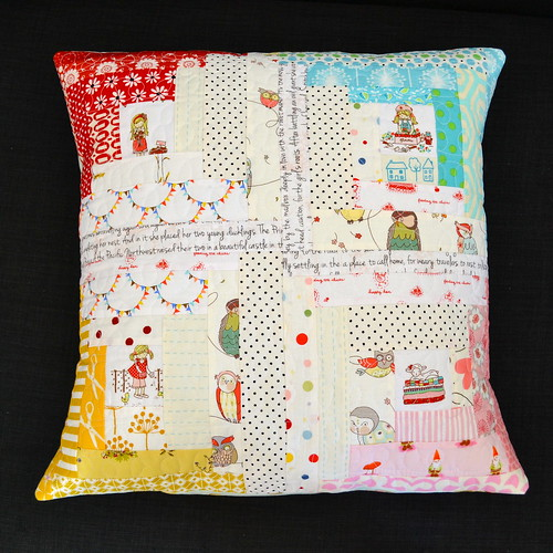 X-Factor Pillow Swap Pillow from Sew Peachey