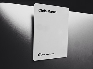 Cards Against Chris Martin