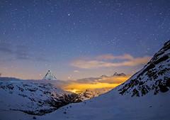 Starry Swiss skies