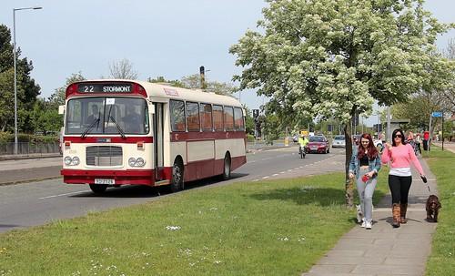 XOI 2526, Preserved Alexander bodied Bristol RE, Heath Road, Ipswich, 4th. May 2014.