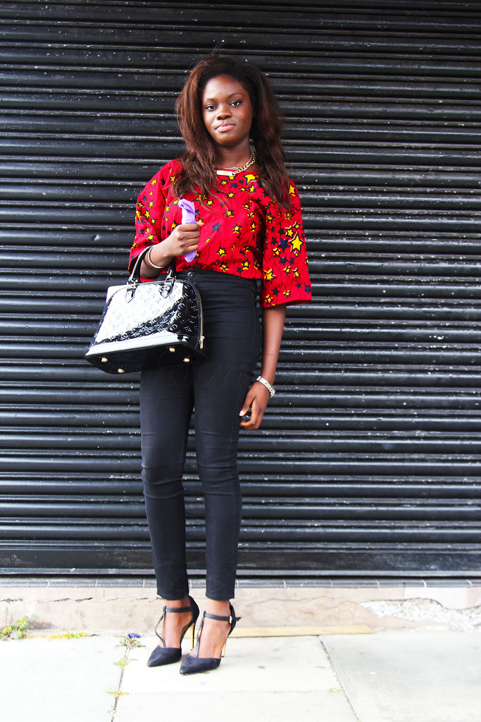 ankara-blouse-with-black-jeans, blouse ankara styles, vitenge style, african print blouse, african print top. traditional top, 2014 african attires, 2014 kitenge style, african shirt styles, ankara styles, kitenge style, kitenge fashion blouses, kitenge fashion tops, kitenge styles and designs, latest kitenge fashion, african style blouse, african style tops, ankara tops jeans, best kitenge 2014