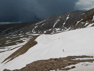Doug Skiing and Scary Weather