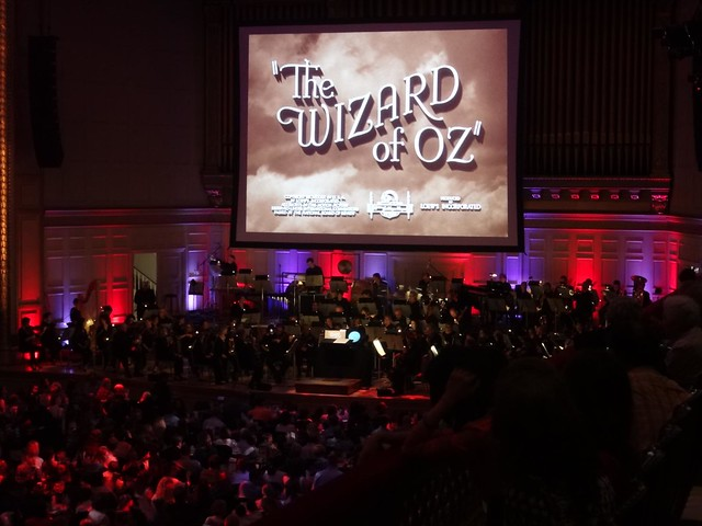 Wizard of Oz at Symphony Hall