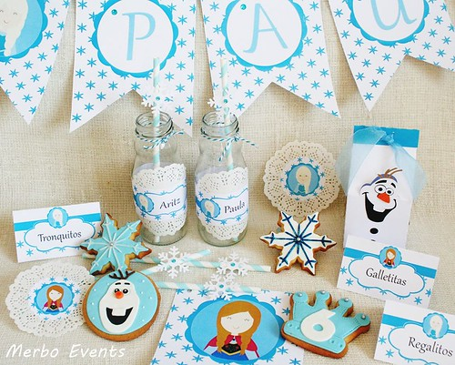 Kit imprimible Frozen Merbo Events