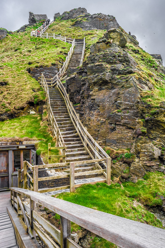 The Tintagel castle, Cornwall, United Kingdom picture