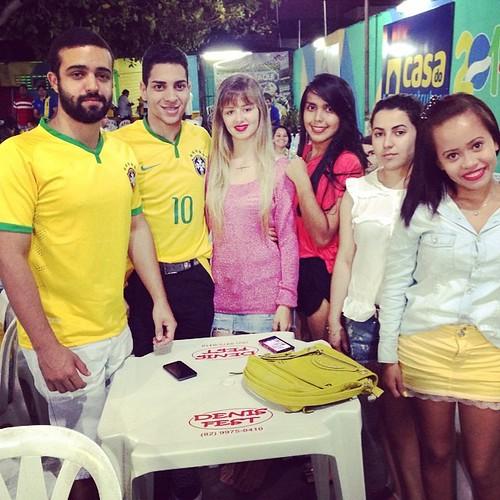 Te namorar te conquistar baby ✌️ #weareone #brazil #fifaworldcup