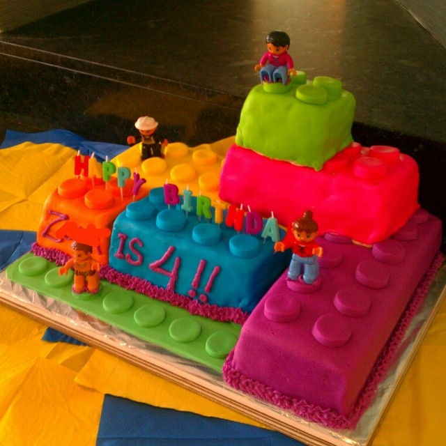 The #allergyfree #Lego cake awaits the birthday party guests... #dairyfree #eggfree #nutfree #sesamefree and more #foodallergy