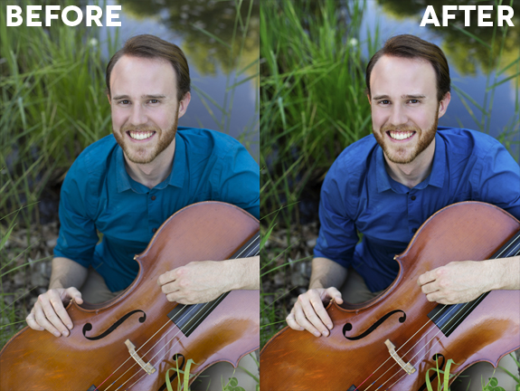 Before After Edit Headshots