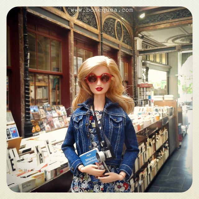 Galerie Bortier. Bruselas & Barbie.