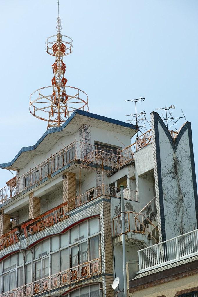 長浜タワービルの展望台部分