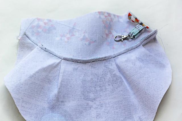 Indelible clutch zipper bag tutorial