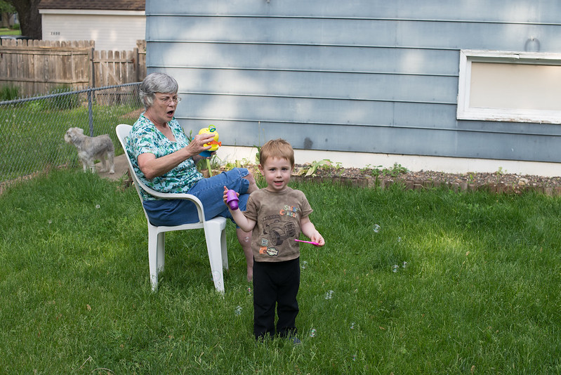 bubbles with gma-3