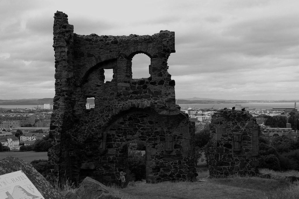 Edinburgh Ruins of St Anthony's chapel