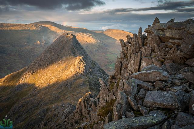 Bristly Ridge to Tryfan - Snowdonia Photography copy
