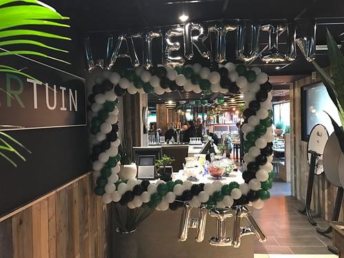 Fotolijst Ballonnen Opening Watertuin Hendrik Ido Ambacht