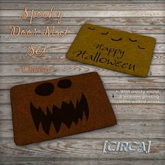 @ Arcanum ~ [CIRCA] - Spooky Door Mat Set - Classic