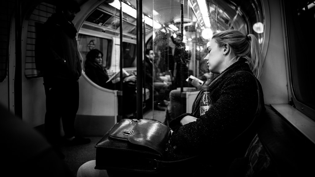 After work, London, England picture