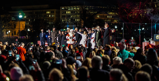 Photos: National Christmas Tree Lighting Ceremony, Washington, DC USA