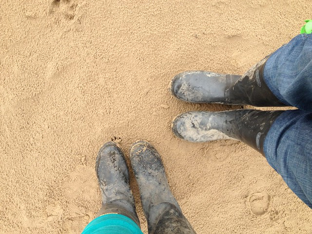 sandy_wellies