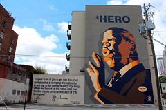 Atlanta - Sweet Auburn: John Lewis Mural
