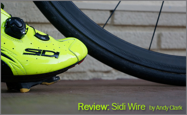 Andy  Clark reviews the Sidi Wire for Glory