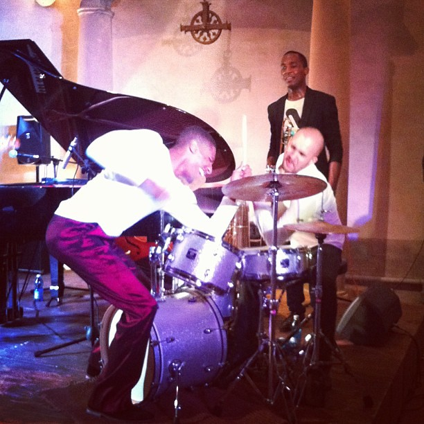 Pure Energy - Jonathan Batiste & the Stay Human Band live @ Villa la Pietra / NYU