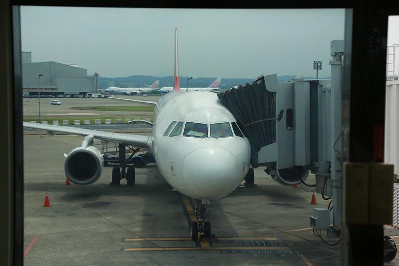 這次要坐的飛機