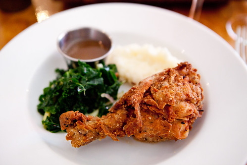 Horopito and Buttermilk Fried Chicken and Kale Slaw and Truffled Honey