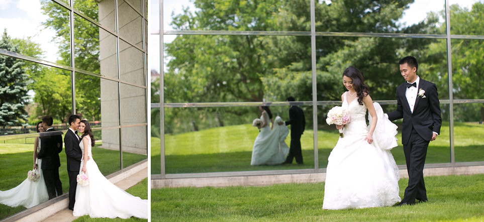 Grand Rapids Ford Museum wedding