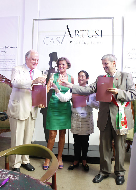 Margarita Fores awarded by Casa Artusi